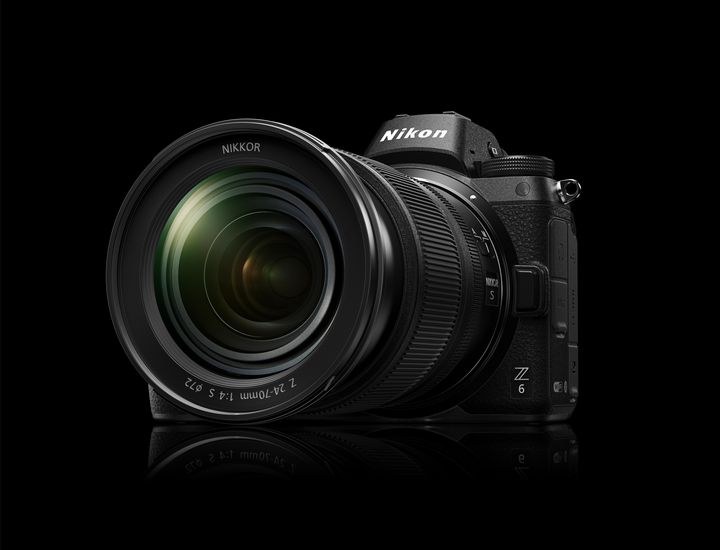 Ebenfalls eine spiegellose Vollformat-Neuheit gibt es bei Nikon zu bestaunen.