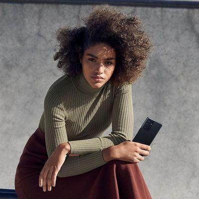"""Samsung präsentiert neue """"Galaxy S21""""-Smartphones mit 5G."""