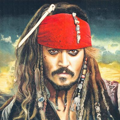 """Johnny Depp tauscht zumindest kurzzeitig das Piratendasein gegen die Welt von """"Harry Potter"""""""
