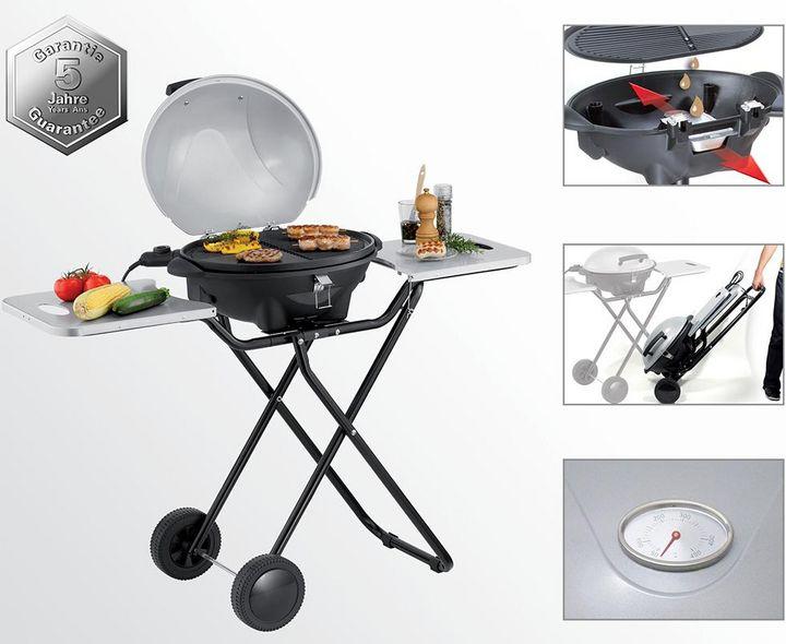 """""""Trisa Grill BBQ Expert"""": Grillfläche von 45 x 35 cm und 2.400 Watt Leistung."""