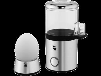Beim WMF KÜCHENminis 1-Ei-Kocher My Egg können gewünschter Härtegrad und Eigröße eingestellt werden.