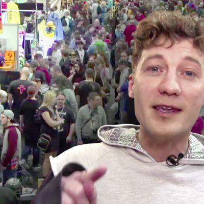Der Ausprobierer auf der Vienna Comic Con 2016