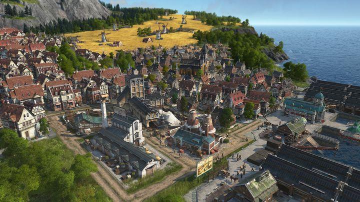 """In """"Anno 1800"""" muss man sich um die Logistik seiner Stadt kümmern."""