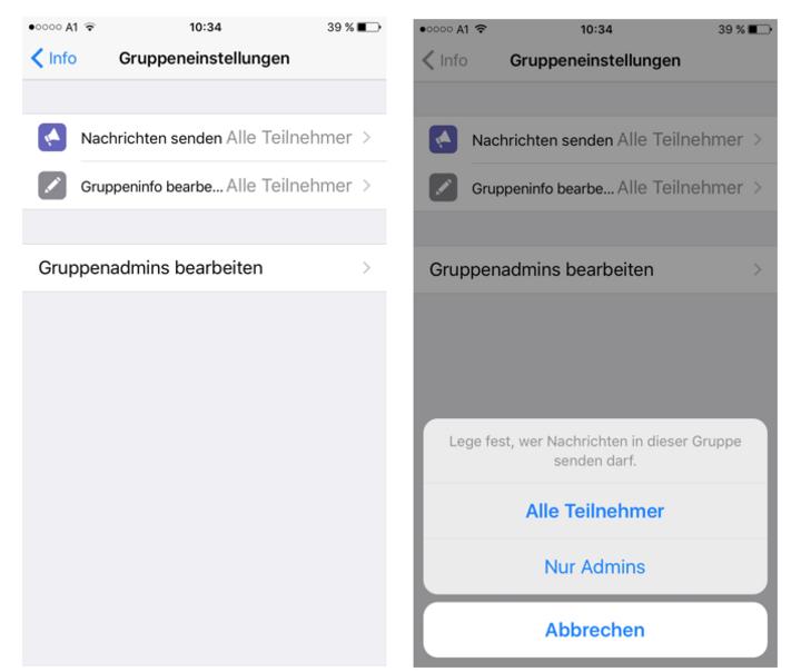 WhatsApp-Update bringt Neuerungen für Gruppen-Admins.
