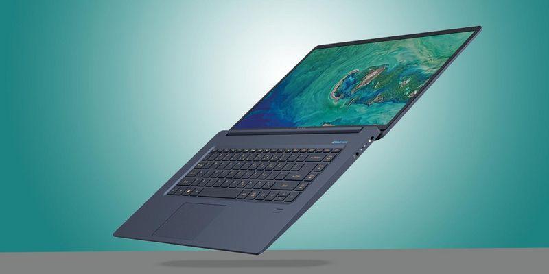 """Das Notebook Acer """"Swift 5""""."""