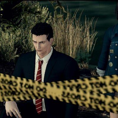 """Jagen Sie Verbrecher in """"Deadly Premonition 2""""."""