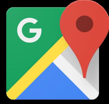 """""""Google Maps"""" ist eine praktische Navi-Apps."""