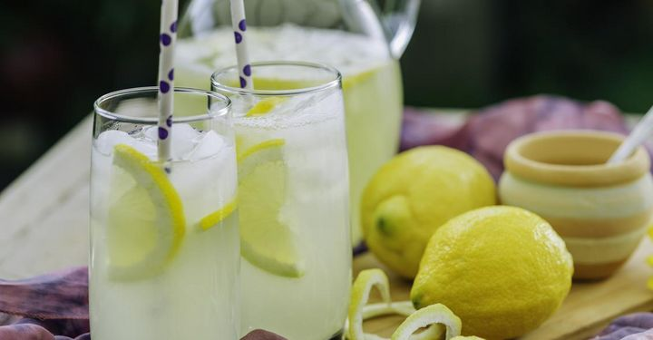 Ingwer-Zitronen-Limonade.