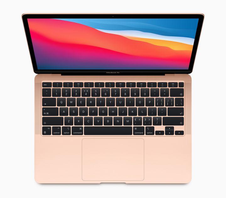 Das MacBook Air mit M1-Chip.