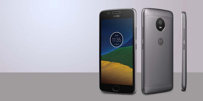 "Das ""Moto G5 Plus"" von Motorola"