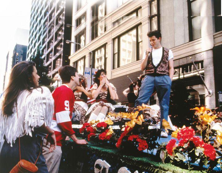 """""""Ferris mach Blau"""" und reist nach Chicago."""