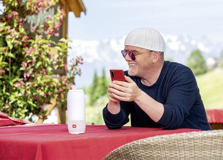 DJ Ötzi mit dem Huawei P30 Pro
