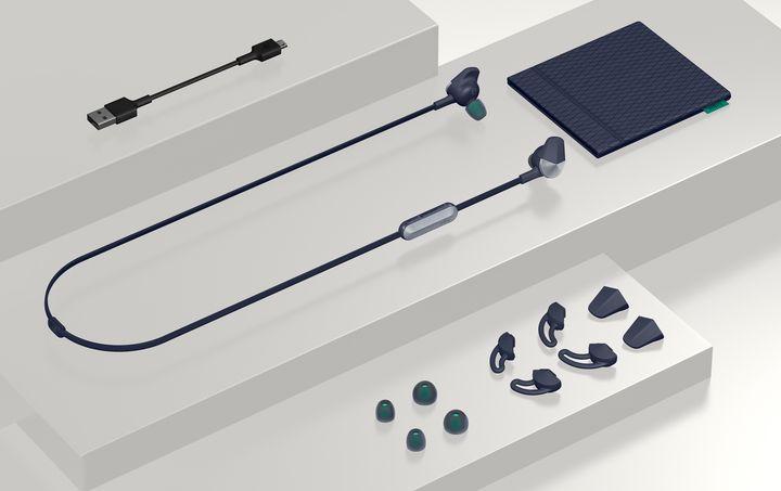 """Wireless, aber nicht kabellos stellen sich die In-Ears """"Flyer"""" von Fitbit vor."""