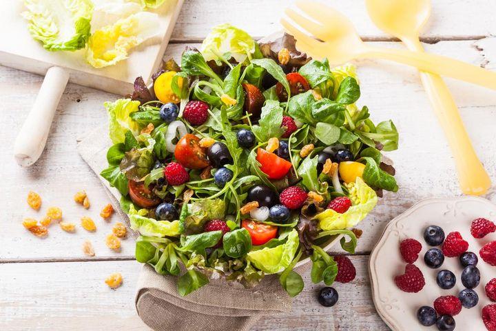 Je bunter der Salat, desto mehr Vitamine stecken in ihm.