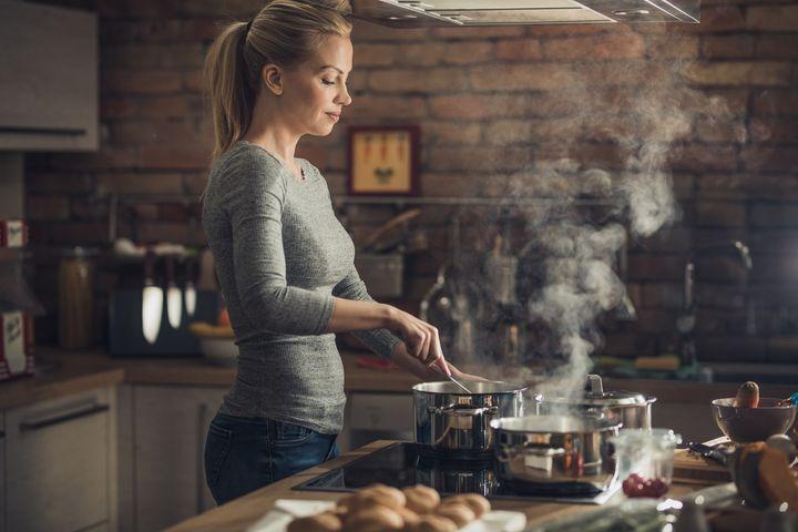 Entspannt kochen mit Induktionsherd.