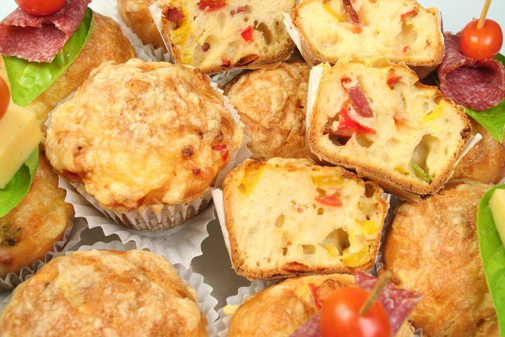 Pizza-Muffins.