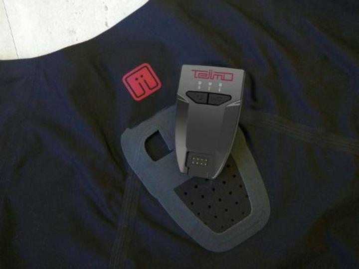 Elektroden an der Sportkleidung erfassen Herzfrequenz und Bewegungsdaten bei der Kollektion iinMotion von Teiimo.