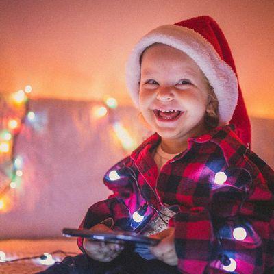 Das Warten auf das Christkind kann auch Spaß machen.