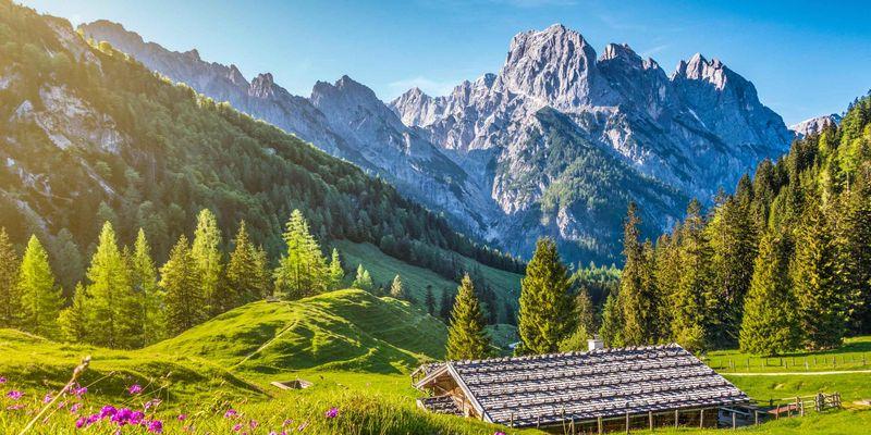 Österreich zeigt sich von seiner schönen Seite