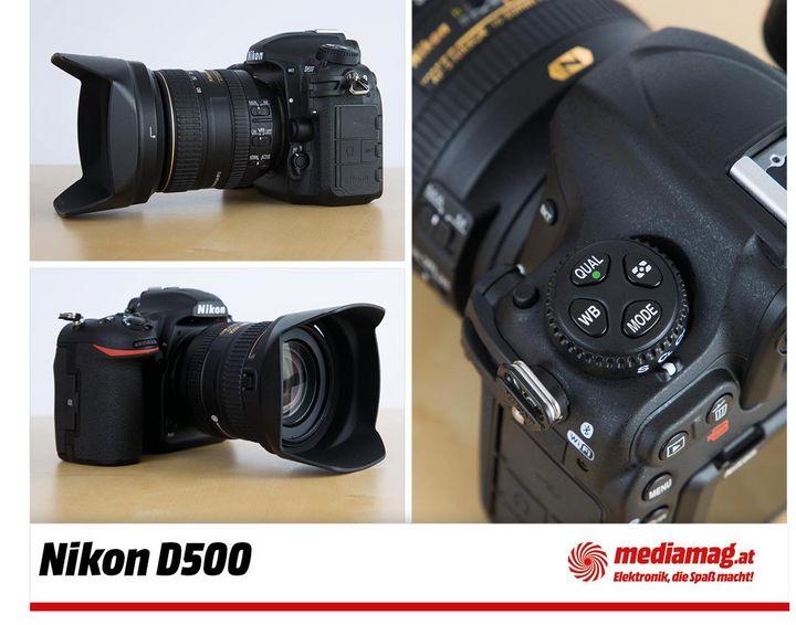 Die digitale Spiegelreflexkamera Nikon D500: schnell und smart