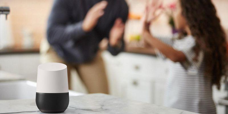 """""""Google Home"""" hilft, um Familie und Freunde zu unterhalten."""