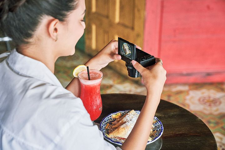 Die neue Premium-Kompaktkamera von Sony, die RX100 VII.