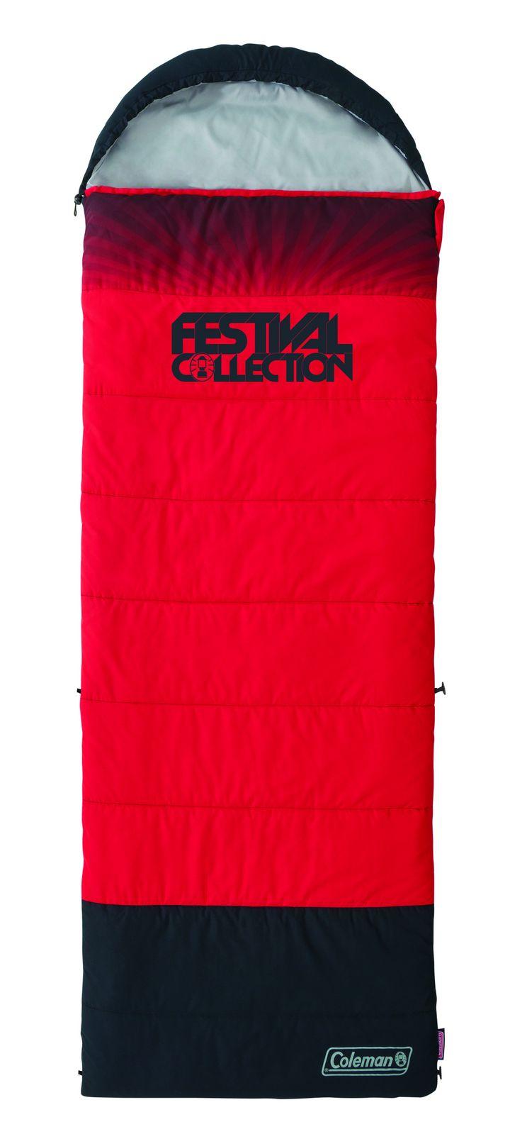 """Der """"Coleman Festival Single Schlafsack"""" wiegt 2 kg."""