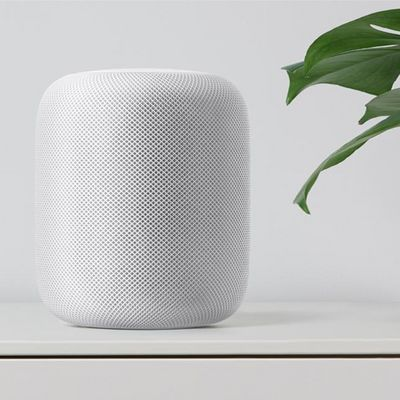 """Der """"HomePod"""" ist mehr als nur ein smarter Lautsprecher."""