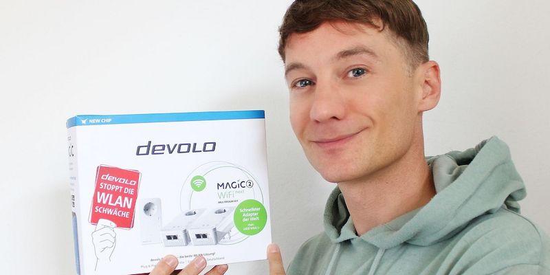 Der Ausprobierer sorgt für starkes WLAN: devolo Magic 2 WiFi next Multiroom Kit.
