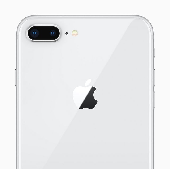 """Die Hülle des """"iPhone 8"""": glänzend."""