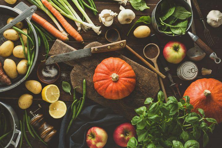 Herbstküche.
