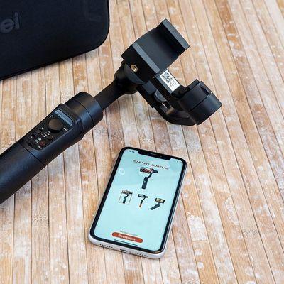 Das Gimbal für das Smartphone von Rollei.
