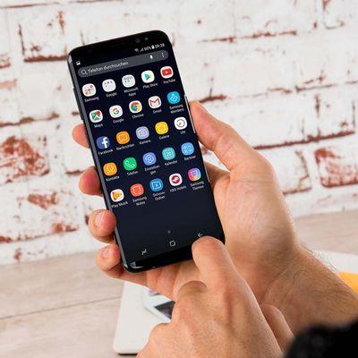 Screenshots mit dem Samsung Galaxy S8 machen.