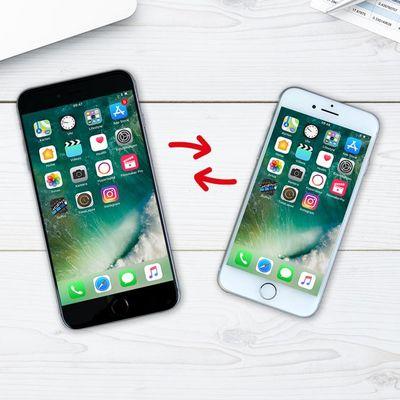 Umzugsassistent von iOS 11: Schnellstart mit dem iPhone 8.