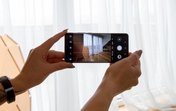 """""""ToF"""" erlaubt es dem Smartphone Tiefen und Entfernungen besser zu erkennen."""
