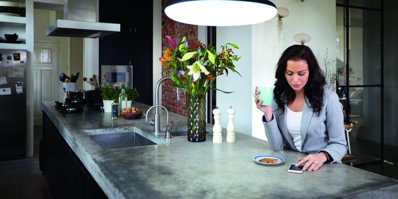 Smartes Leben mit Philips Hue Beleuchtungsmittel.