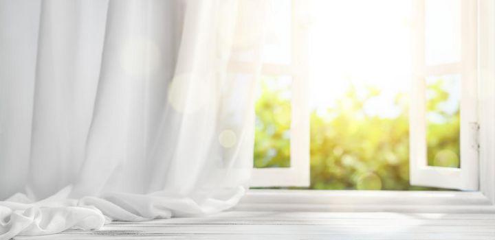 Gesicherte Fenster im Smart Home.