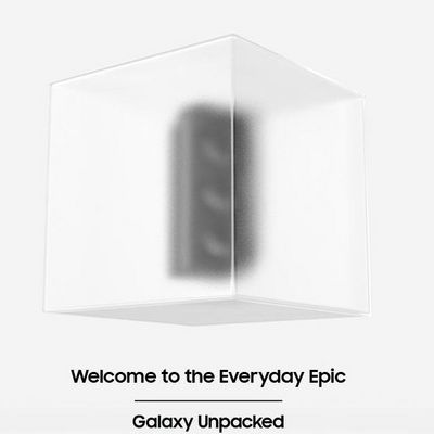Live-Stream vom Samsung Galaxy Unpacked-Event am 14. Jänner 2021.