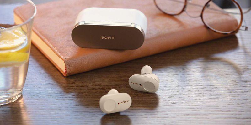 Die neuen Kopfhörer von Sony.