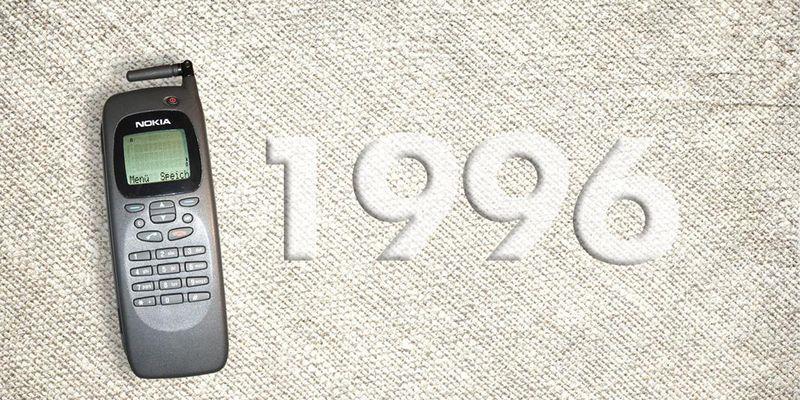 """Der """"Nokia 9000 Communicator"""" aus dem Jahr 1996."""