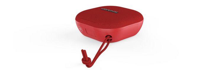 Der Sharp Bluetooth-Lautsprecher GX-BT60 liefert True Wireless Stereo-Sound und Extra-Bass.
