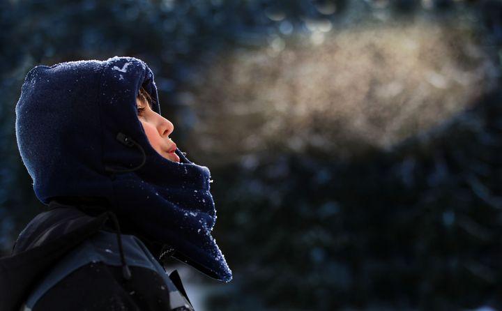 Kälte darstellen