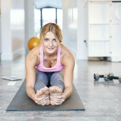 Apps für Fitnessübungen im eigenen Wohnzimmer.
