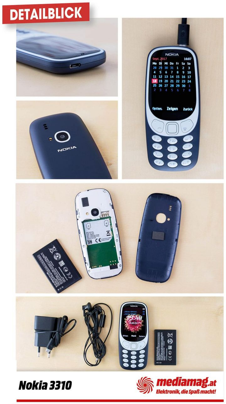 Das Kult-Handy Nokia 3310 ist wieder da.