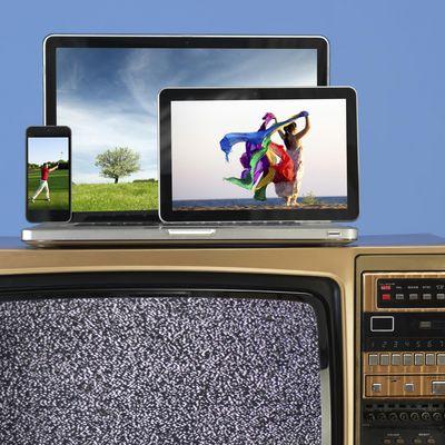 TV auf allen Schirmen