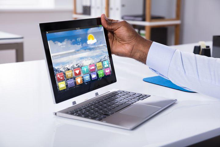 Convertibles lassen sich wie ein klassisches Notebook verwenden.