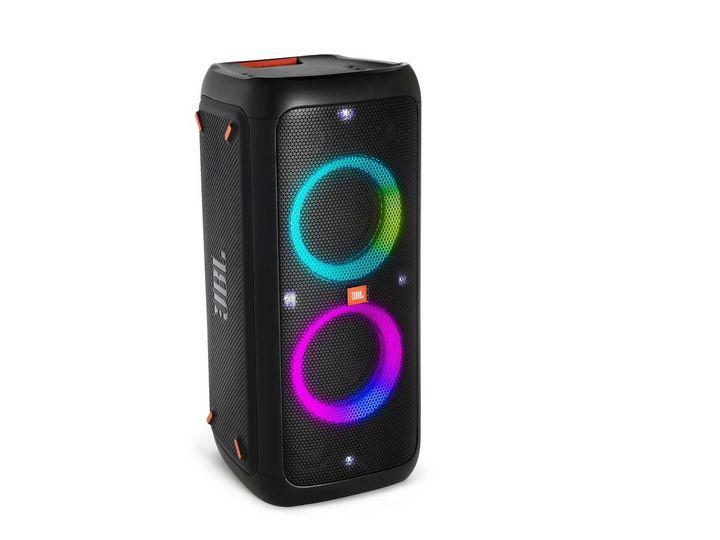 """Die """"PartyBox"""" kann sogar mit einem Mikrofon oder einer Gitarre verbunden werden."""