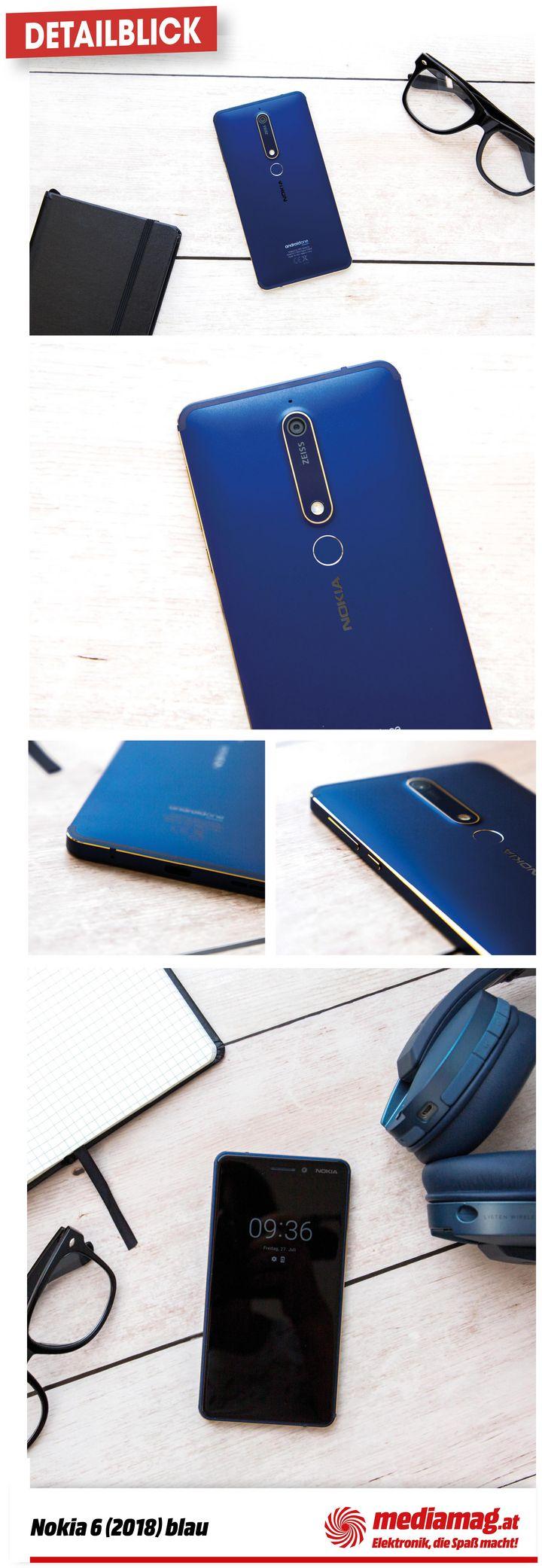 """Wir nehmen das """"Nokia 6.1."""" genauer unter die Lupe."""