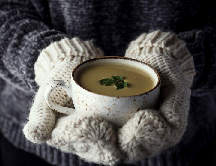 In der Winter-Suppe mit Kartoffeln steckt Vitamin C.
