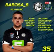 SK Puntigamer Sturm Graz: Filip Babic